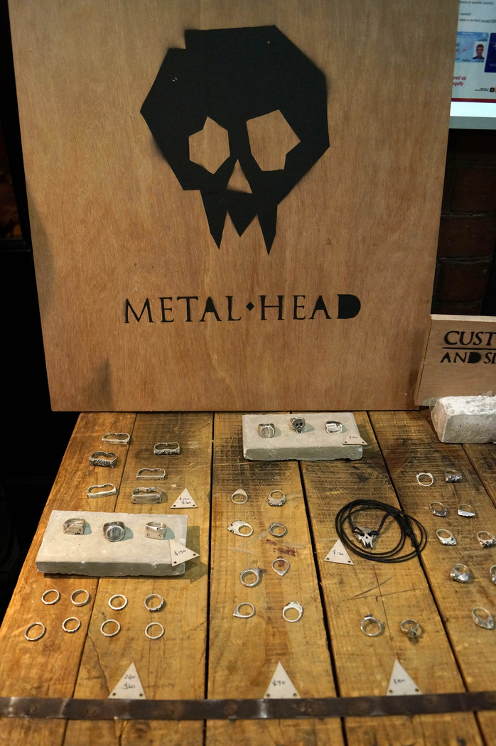 metalhead jewellery, hand made, hand crafted, jewellery art, raw art, raw artist, sydney jewellery